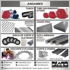 Linha Diaço para Andaimes - #diaco #serra #es
