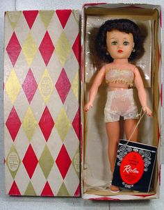 Beautiful 1950's Ideal Miss Revlon Doll Wearing the