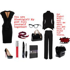 """""""Edna Mode - The Incredibles"""" by dreamingofatony on Polyvore"""