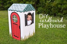 DIY Cardboard Playhouse - Project Nursery