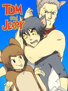 Tom i Jerry gay sex