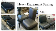 reluvd heavy equipment seating
