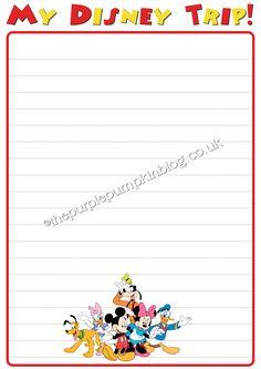 My #Disney Trip Report For Kids - Free #Printables ~ The Purple Pumpkin Blog