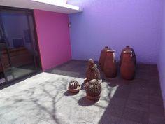 Luis Barragan's Casa Gilardi - patio