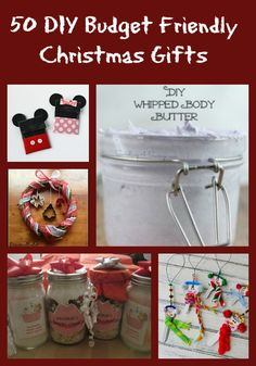 50 Budget Friendly DIY Homemade Gifts - Just 2 Sisters