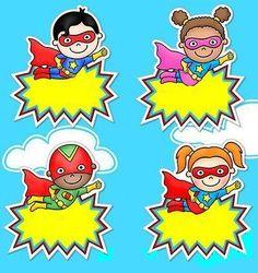 Superhero Classroom, School Bulletin Boards, Class Decoration, Borders And Frames, Teaching Tools, Bowser, Back To School, Preschool, Kids