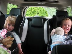 Ladybug's Landing: Surviving a Road Trip with Babies & Toddlers