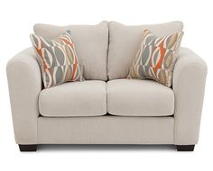 Cream - Elegant Living Room Furniture- Stylish Sofas, Furniture | Furniture Row