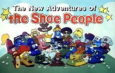 Old Cartoons - The Shoe People