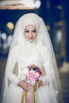 My wedding dress ^^  Recep's Wife