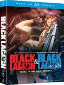 Black Lagoon Seasons 1&2 Complete Collection Blu-Ray/DVD Combo $54.99