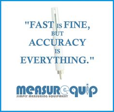 """""""Fast is Fine, But Accuracy is Everything"""" - #probe #transmitter #Measurequip"""