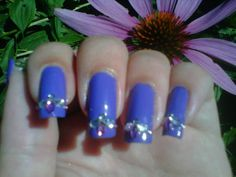 London Inc. nail polish...this color payoff is only one coat. Amazing!