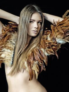 Collar of Feathers | NOT JUST A LABEL- NEEDED IN MY LIFE