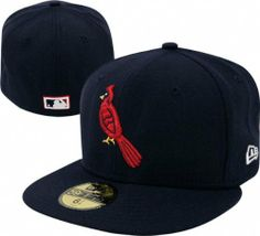 St. Louis Cardinals Cooperstown 59Fifty Fitted Hat by New Era.  34.99.  Resists shrinkage. Black undervisor reduces glare. Officially licensed by  MLB. a4627e2b045