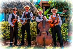 Blue Cypress Bluegrass - Vero Beach, Florida is home to this traditional bluegrass & old-time classic country band.
