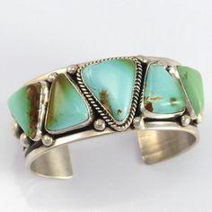 Royston Turquoise Cuff - Jewelry - Guy Hoskie - 1