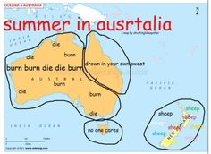 """Chapped lips, burnt face, bushfire warnings and smoke flames"" - Australian love song. Australian Memes, Aussie Memes, Australian English, Aussie Tumblr, Meanwhile In Australia, Australia Funny, Australia Map, Queensland Australia, Melbourne Australia"