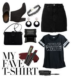 """My Fave "" by peacock-style on Polyvore featuring IRO, L.A. Girl, MAC Cosmetics, Illamasqua and MyFaveTshirt"