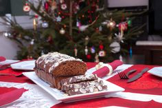 Ingredients cup white sugar cup butter 1 egg 1 cup molasses 2 cups all-purpose flour 1 teaspoons baking soda 1 teaspoon ground cinnamon 1 teaspoon ground ginger teaspoon ground … Molasses Cake, Holiday Bread, Spice Bread, Christmas Treats, Christmas Foods, Christmas Time, Quick Snacks, Veg Recipes, Sweet Bread