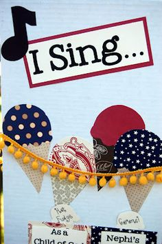Are you a great singer? I wish I was, but I just wasn't born with it! Are you a musician? I can play some songs on the piano. I ma. Primary Program, Primary Songs, Primary Singing Time, Primary Activities, Lds Primary, Kids Church, Church Ideas, Lds Music, Fun Bucket