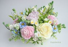 Molds (patterns) for decorative flowers. Discussion on LiveInternet - Russian Online Diaries Service
