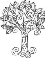 Embroidery Designs at Urban Threads - Nature Doodles (Design Pack) Quilting Designs, Embroidery Designs, Paper Embroidery, Hand Embroidery Patterns Free, Embroidery Stitches, Tree Templates, Design Templates, Quilled Creations, Urban Threads