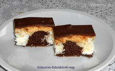 Kokosovo-čokoládové rezy (fotorecept) Tiramisu, Cooking, Ethnic Recipes, Kitchen, Basket, Kochen, Home Kitchens, Kitchens, Tiramisu Cake