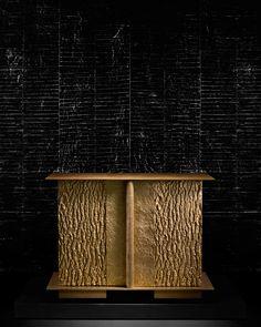 Bronze box by Peter Marino. Unique Home Decor, Diy Home Decor, Decoration, Art Decor, Decor Ideas, Luxury Furniture, Furniture Design, Best Interior, Interior Design