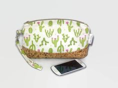 A personal favourite from my Etsy shop https://www.etsy.com/uk/listing/550562319/cactus-clutch-bag-pouch-clematis-pouch