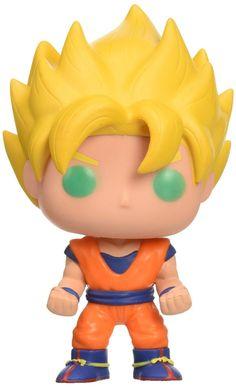 Dragon Ball Z : Super Saiyan Goku (Teal Eyed) Vinyl Figure