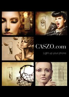 Light up your phone with taste. Glamorous Phone cases now on sale at http://CASZO.com/