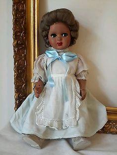 Bambola Bachelite anni 50 vintage doll
