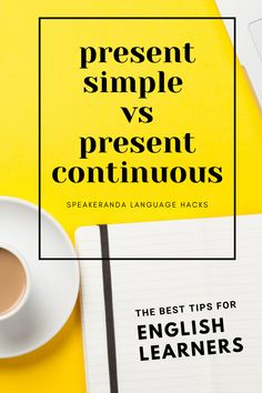 Learn the differences between the present simple and the present continuous. #ESL #EFL #presentsimple #presentcontinuous #teachlanguages #learnlanguages #teachers #learners #students #english What Do Butterflies Eat, Teaching Resources, Teaching Ideas, Speaking Games, Printable Board Games, Learn English, Esl, Small Groups, Languages