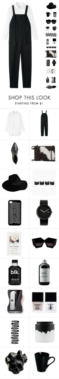 """""""B & W"""" by virty8 ❤ liked on Polyvore featuring мода, Toast, Base Range, 3.1 Phillip Lim, By Malene Birger, Maison Margiela, Alessi, H&M, House of Holland и Sort of Coal"""