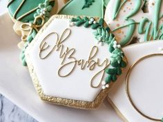 Let's talk dreamy cookies! Fancy Cookies, Cute Cookies, Summer Cookies, Heart Cookies, Valentine Cookies, Easter Cookies, Birthday Cookies, Christmas Cookies, Deco Baby Shower