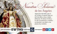Los costarricenses celebran la fiesta de Nuestra Señora de los Ángeles el 2 de agosto.