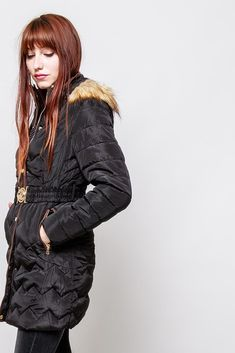 Čierna dámska bunda s kapucňou - Rouzit.sk Winter Jackets, Fashion, Moda, Winter Vest Outfits, La Mode, Fasion, Fashion Models, Trendy Fashion