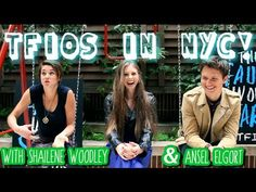 ON THE SWINGS WITH SHAILENE & ANSEL | TFIOS! (+playlist) I just love her! She does the best book talks!