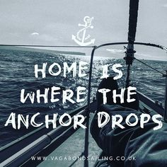 Home is where the anchor drops ⚓️⚓️ #sailing #sailaway #sailor #adventure