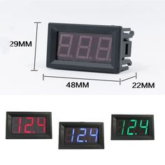 1pcs High Quality 0.56 inch LED DC 4.50V-30.0V Digital Voltmeter Home Use Voltage Display 2 Wires Red And Black  Price: 2.04 USD