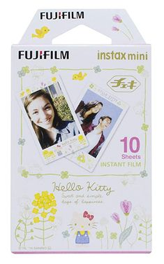 instax 16537328 Hello Kitty Mini Film - Multi-Colour (Pack of