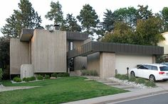 Brutalist house