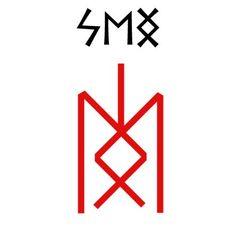 Interpretation of the runes Soulo for beginnersFleece willpower. Anglo Saxon Runes, Norse Runes, Futhark Runes, Viking Symbols, Viking Runes, Rune Symbols And Meanings, Element Symbols, Magic Symbols, Viking Rune Tattoo