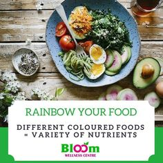 Eating the rainbow  Did you know that when you consume food from the colour spectrum you have a better chance of consuming more nutrients?  Imagine a plate full of different colours this is like eating all the colours of the rainbow.  Different coloured foods carry different nutrients minerals minerals antioxidants and so much more.  How about you assess your diet to see if you are eating a rainbow coloured diet?  As part of our rainbow your diet feature we will be sharing the benefits of…