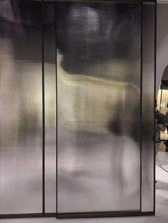 透过玻璃,进入空间 | 自由微信 | FreeWeChat Glass Design, Door Design, Wall Design, Architecture Restaurant, Interior Architecture, Hotel Alger, Reeded Glass, Door Detail, Glass Partition