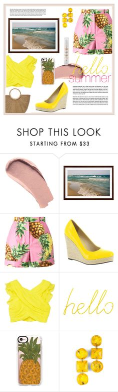 """""""We wear short shorts"""" by brokeshopaholicsc ❤ liked on Polyvore featuring Burberry, Pottery Barn, Dolce&Gabbana, Michael Antonio, MANGO, Block, Casetify, MILK MAKEUP and runwayeveryday"""
