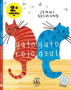 Gato Rojo y Gato Azul vivían en la misma casa. Gato Azul, en el piso de arriba. Gato Rojo, en el de abajo. Cada vez que se cruzaban… Nada bueno sucedía.