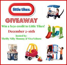 Little Tikes Giveaway! Just in time for the holidays, win $150 credit!