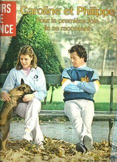 µ Jours de France N°1249 caroline de Monaco et PhilippeJunot 1978